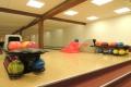 Pohled na bowlingové dráhy