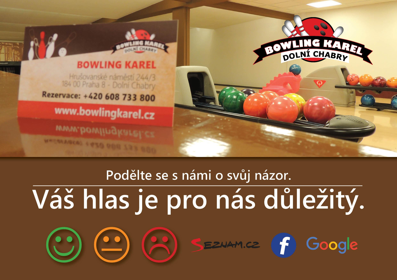 Hodocení služeb bowlingu KAREL - Praha 8