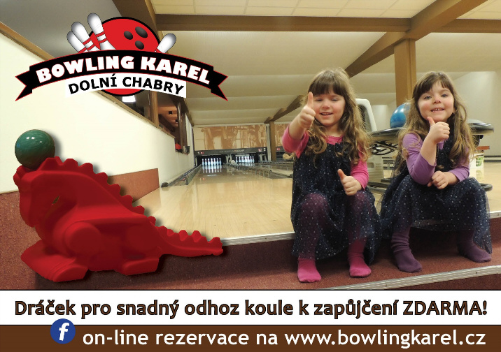 Bowling Karel - dráček pro děti