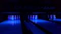 UV osvětlení na bowlingu KAREL